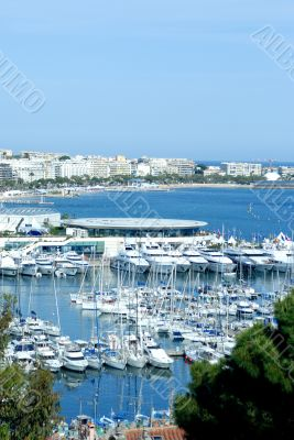 View of Cannes (french riviera)