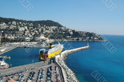 Port of Nice (france, french riviera)