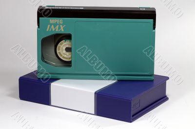 Beta TV Cassette isolated
