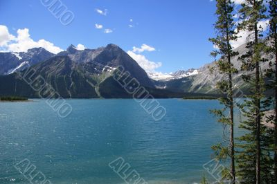 Lake in Kananaskis Country, Alberta, Canada