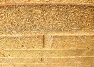 Muddy Brick Wall