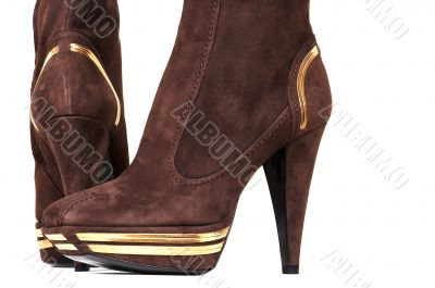 fashionable female boots