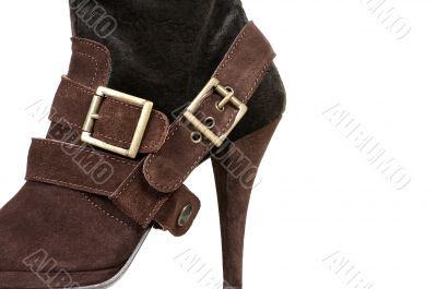chamois female boot