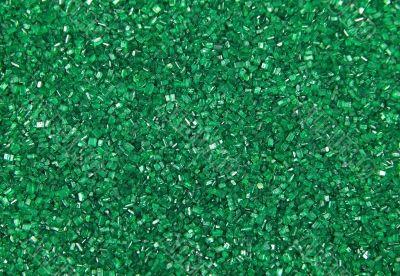 Green Sugar Sprinkles