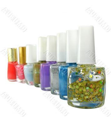Nail polish 1 Isolated on white