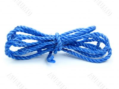Plastic rope 2 Isolated on white