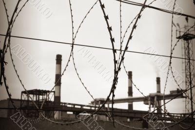 Industrial territory