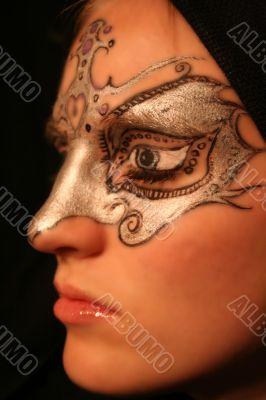 Carnival Mask Profile
