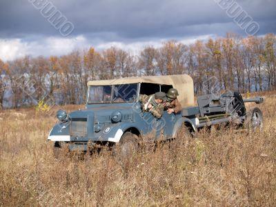 German vehicle