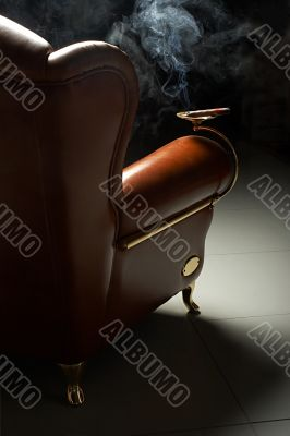 cigar and armchair