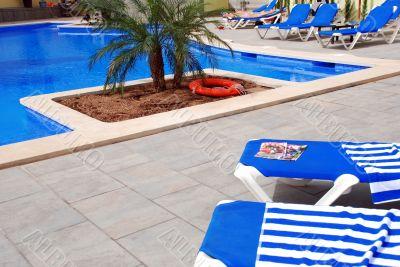 pool at a hotel in Palma de Mallorca