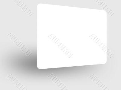 Blank Card 3D