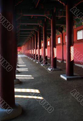 Walkway in Palace
