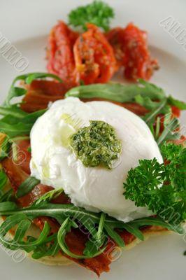 Poached Egg Pesto 2
