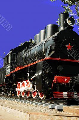 our locomotive forward flies on old rails