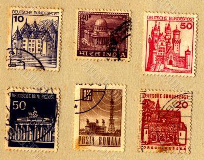 Postal stamps