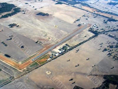 Airstrip in outback