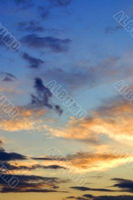 gaudy sky
