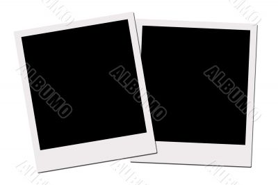 Polaroid Films (with clipping path)