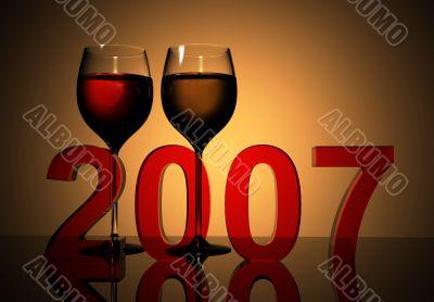 new year 2007 celebration