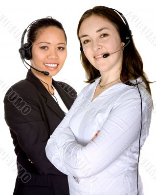 diverse customer service partners