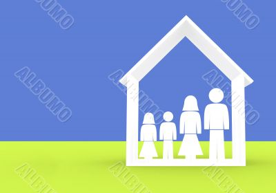 family illustration - home insurance