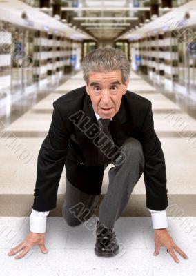 start your business - senior in race position