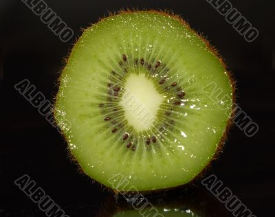 tropical fruit  sweet ripe kiwi.