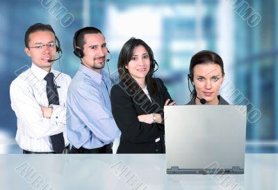 business call center