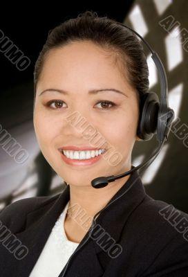 asian business customer support