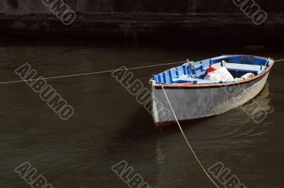 Boat moored