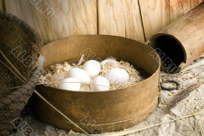 It is eggs