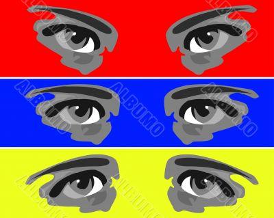 Six eyes
