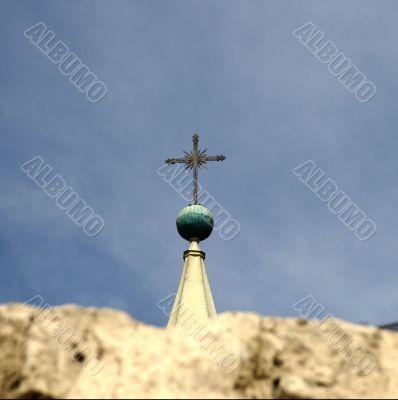 A church in White city Arekipa