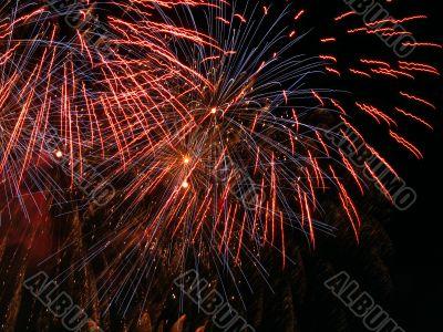 Gentle fireworks