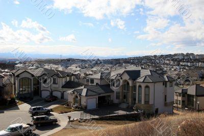 Houses in Calgary, Canada