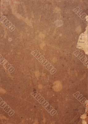 old and worn paper texture