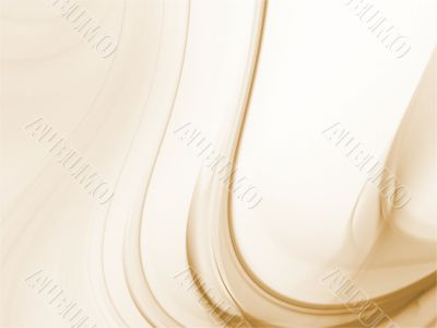 Fractal Abstract Background - Curving brown texture