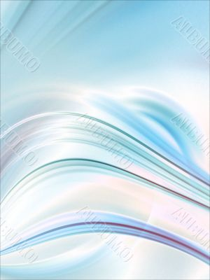 Fractal Abstract Background - Curving textures