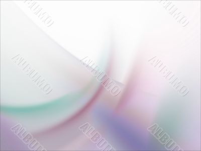 Fractal Abstract Background - Pastel smudges