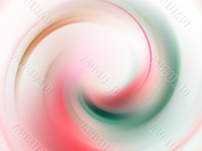 Fractal Abstract Background - Pastels swirling