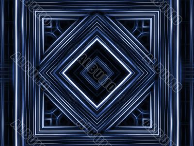 Fractal Abstract Background - Geometric design