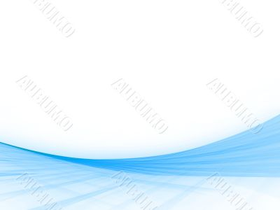 Fractal Abstact Background, Sloping, woven blues with copyspace
