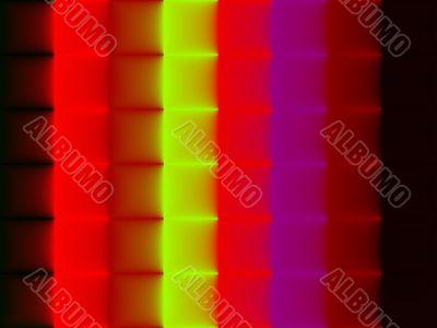 colour weft