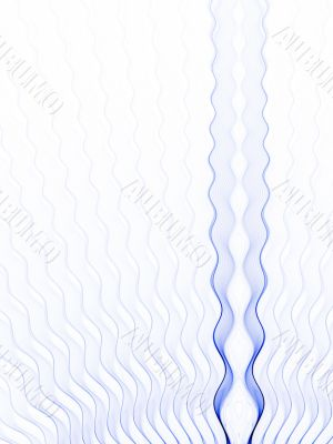 Fractal Abstract Background - Rippling Blue