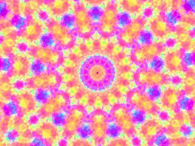 pinkish kaleidoscope
