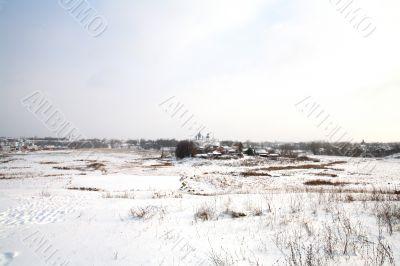At the horizon Suzdal