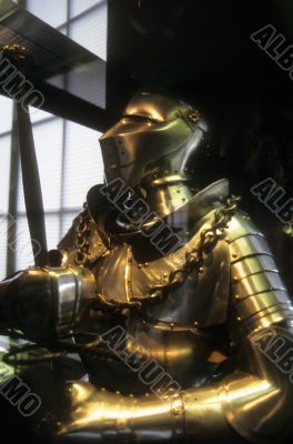 Armor of late medieval knight