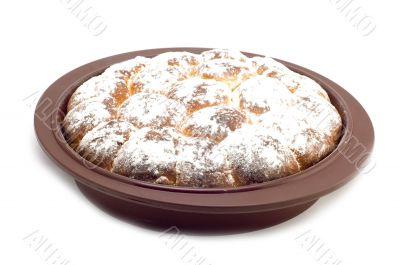 roll in baking form