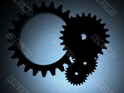engineering cogwheels